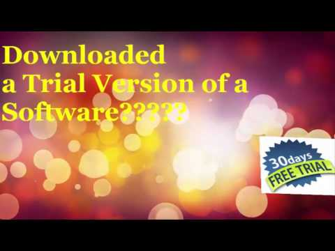 How to Extend the trial period of any Software