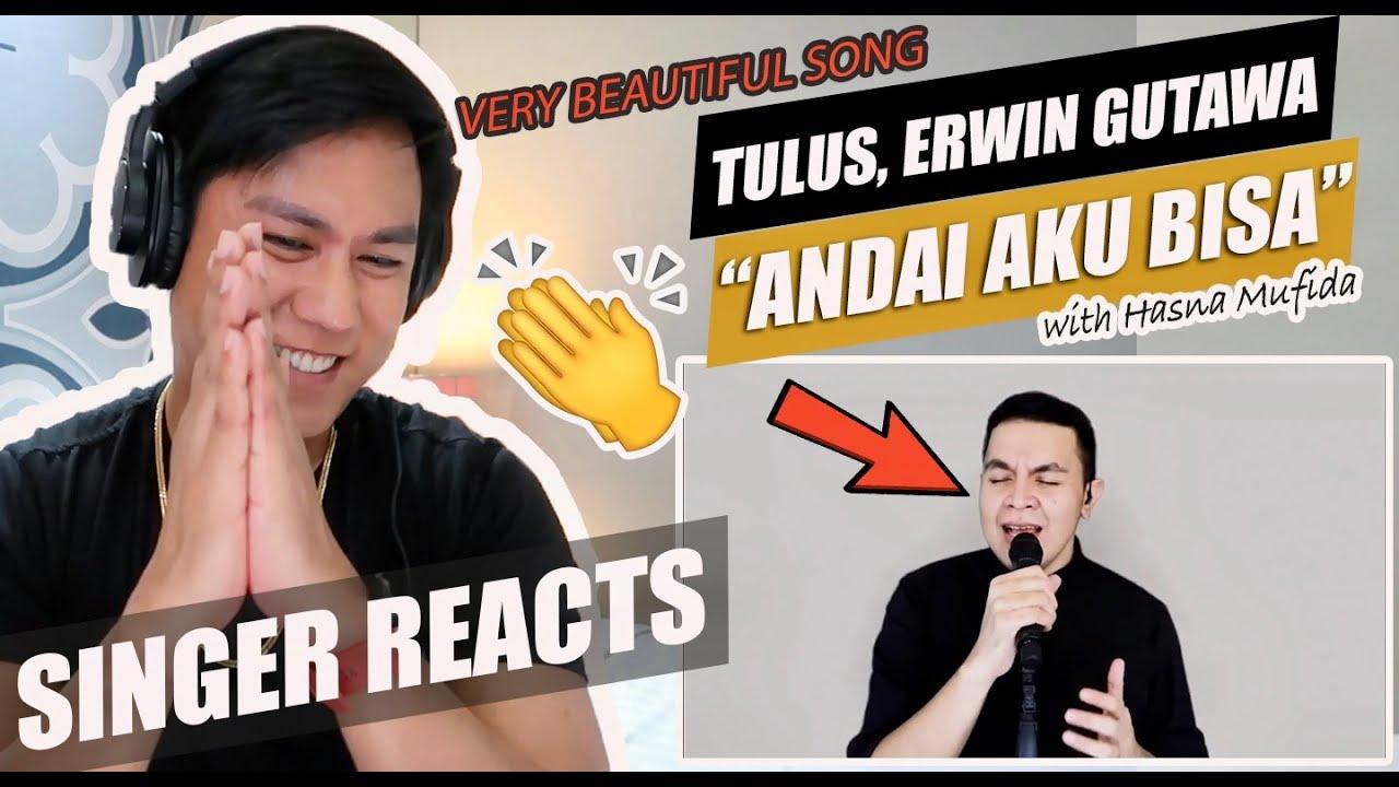 Download Andai Aku Bisa - Erwin Gutawa Orchestra, Tulus, Hasna Mufida (Remembering Chrisye) | SINGER REACTION MP3 Gratis