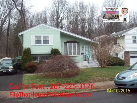 *** SOLD *** SOLD *** SOLD *** Abington, PA 19027 / Wholesale Property For Sale / Cash Buyers Only!