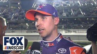 Denny Hamlin on disappointing final restart | 2018 DAYTONA 500 | FOX NASCAR