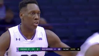 Wildcats Were Hot From Deep in 1st Half vs. Chicago State