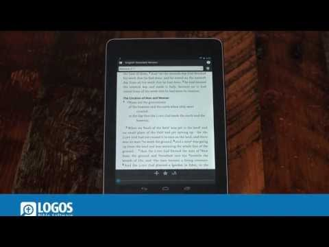 Android Tablet: Slider Bar and Book Info   Logos BIble Software