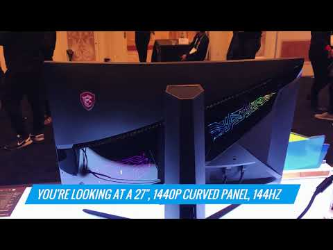 MSI's New Gaming Monitors Have Crazy Customizable Lights