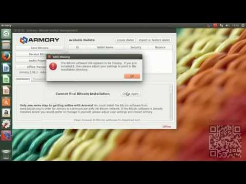 How to install Bitcoin Armory in Ubuntu 14.04