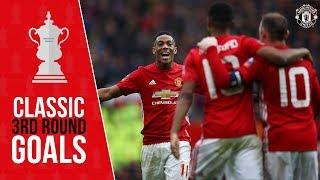 FA Cup 3rd Round Classics | Rooney, Rashford & Martial | Wolves v Manchester United