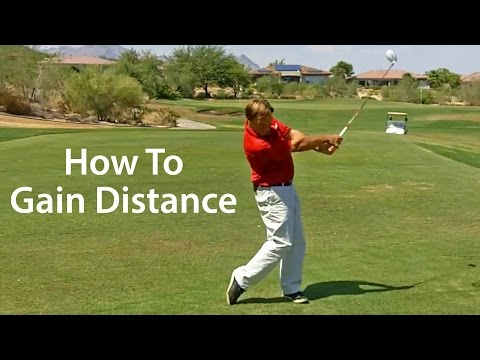 Golf Swing Power - How To Gain Distance