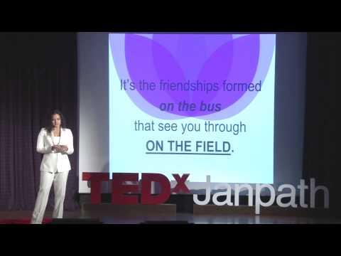 FAT GIRL RUN | Amruda Nair | TEDxJanpath
