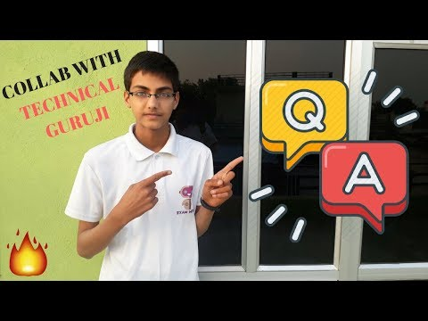 Collab with Technical guruji , channel Promotion , school , BMW or 1M Subscribers Second Q&A Video