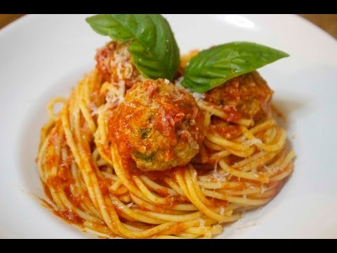 Homemade Spaghetti and Meatballs - Cooked by Julie - Episode 151