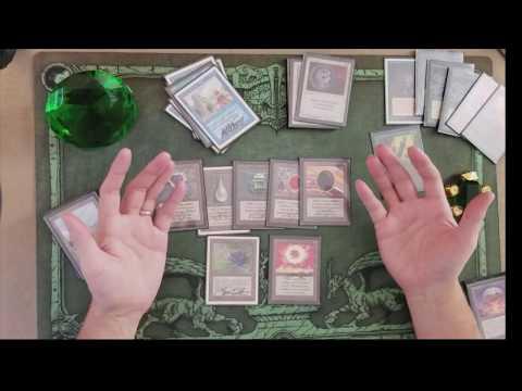 Old School Magic deck Tech (The Deck... Randy Buehler)