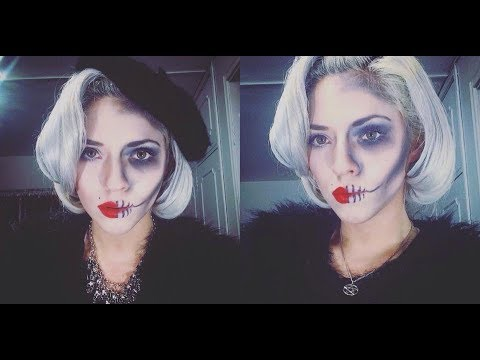 Marilyn Monroe Zombie MakeUp & Hair tutorial By Cherry Saint / Halloween look