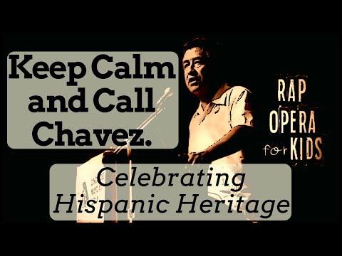 Cesar Chavez Civil Rights for Kids Song - Rap Opera for Kids