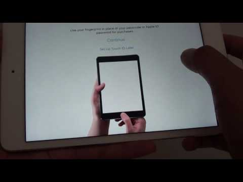 iPad Mini 4: How to Setup for the First Time