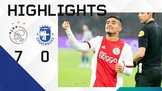 Highlights Ajax - Spakenburg | Ünüvar debuteert en scoort! | KNVB Beker
