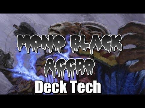 Mtg Deck Tech: Mono Black Aggro in Ixalan Standard!