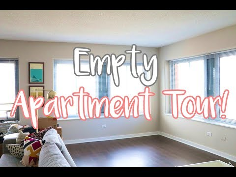 Empty Downtown Chicago Apartment Tour! [Moving Vlog!]