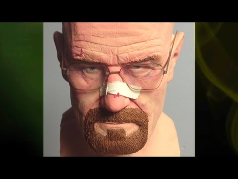 Making of Walter White Sculpture