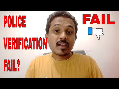 POLICE VERIFICATION FAIL FOR PASSPORT! WHAT TO DO?? FULL INFORMATION!!! (HINDI)