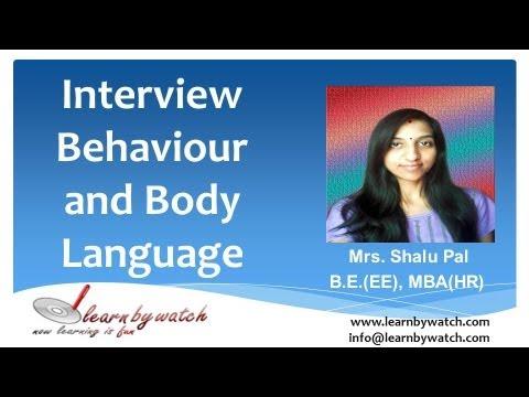 Interview Behaviour and Body Language (Hindi / Urdu)
