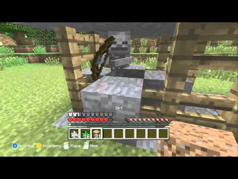 Minecraft: Xbox 360 Edition: Tutorials - How to make a music disc farm [Simple]
