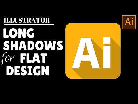 Create Long Shadows for Flat Icon Design in Illustrator