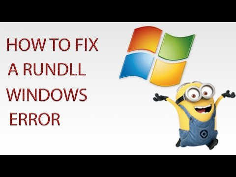 How to Fix a RUNDLL There Was a Problem Starting Error - 2015