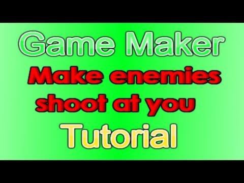 GML Tutorial (Make Enemies Shoot At You)