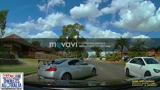 Driver accuses me of hit and run on dash cam