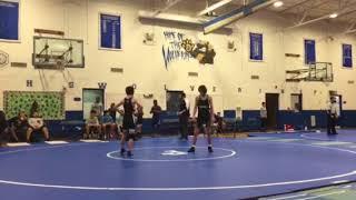 Wrestling- Brooks vs Jefferson (Woodridge) 1/17/18