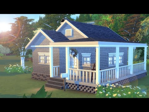 Hideaway Starter || The Sims 4 Starter House - Speed Build