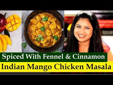 How to make Mango Chicken | Mango Chicken Masala | Mango Chicken Curry | Aam chicken recipe