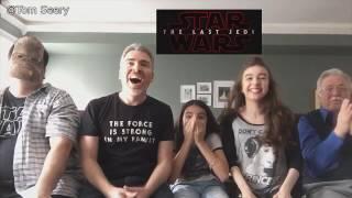 Top 5 - Star Wars Episode 8 - Teaser Reactions!