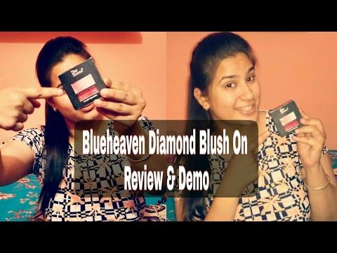 Blue Heaven Diamond Blush On Review & Demo | Aarti Chopra