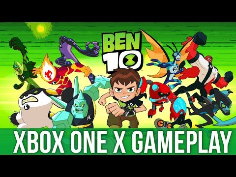 Ben 10 - Xbox One X Gameplay (Gameplay / Preview)