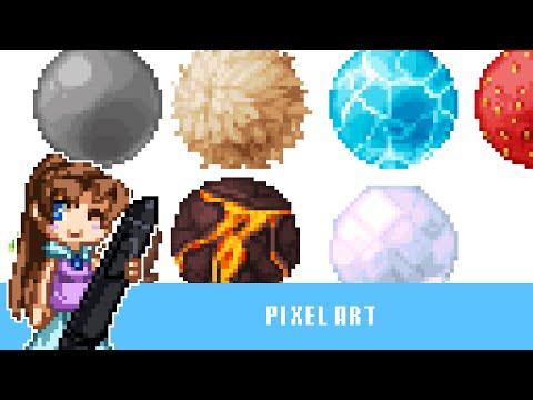Speedart: Personal Study Pixel Textures