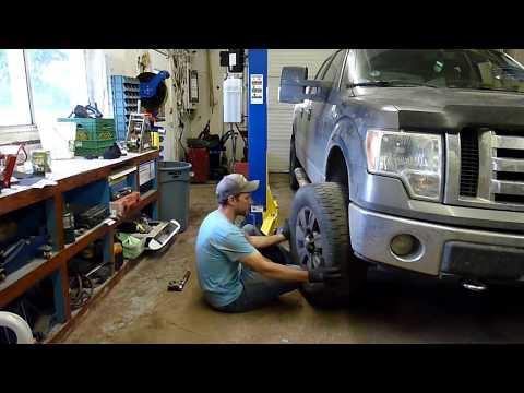 Garage Tip - Lifting Big Heavy Tires