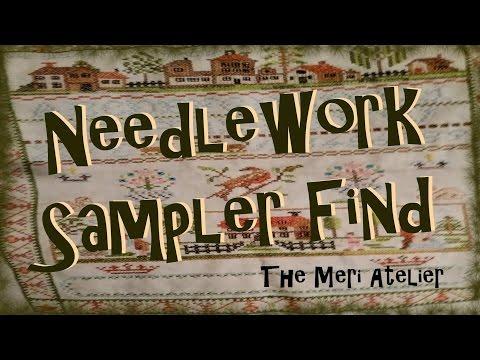 Needlework Sampler Find