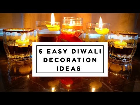 5 stunning and easy diwali decoration ideas