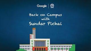 #BackOnCampus: Google CEO Sundar Pichai, Live in Conversation at IIT - KGP