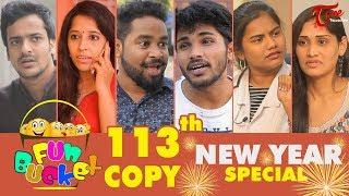 Fun Bucket | 113th Episode | NEW YEAR 2018 Special | Funny Videos | Harsha Annavarapu