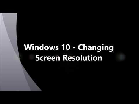 How to Change Screen Resolution in Windows 10 - Beginner Tutorial