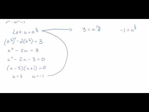 10.3 The Discriminant and Equations That Can Be Written in Quadratic Form