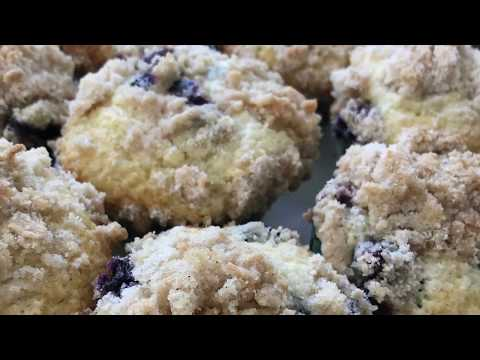 Homemade Blueberry Muffins - How to Make Homemade Blueberry Muffins