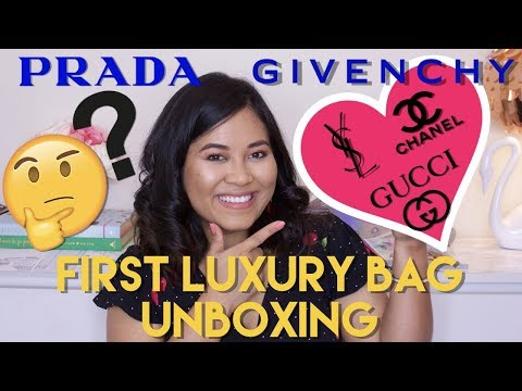 Luxury Bag Unboxing | First High End Designer Bag