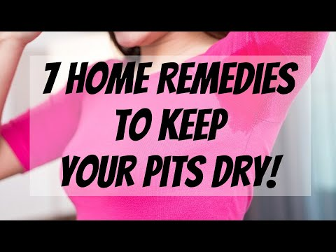 I Sweat Too Much! 7 Home Remedies to Keep Your Pits Dry for Good!