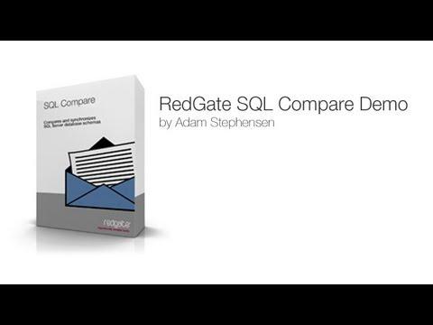 RedGate SQL Compare Demo