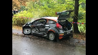 Rally Liepaja 2017 ERC ALL CRASH AND MAX ATTACK KAJETANOWICZ CHAMPION! LUKYANUK AND MAGALHAES CRASH!