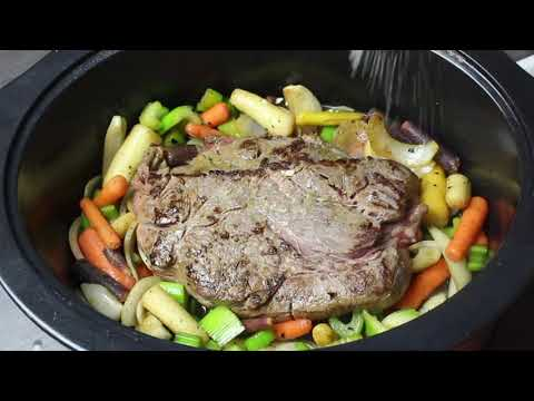 Mississippi Pot Roast - Slow Cooker Recipe - I Heart Recipes