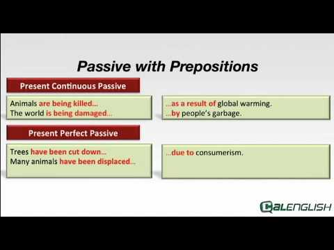 Passive with Prepositions