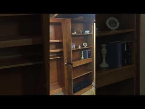 Bookshelf Door - Hidden Room - Man Cave - Murphy Door